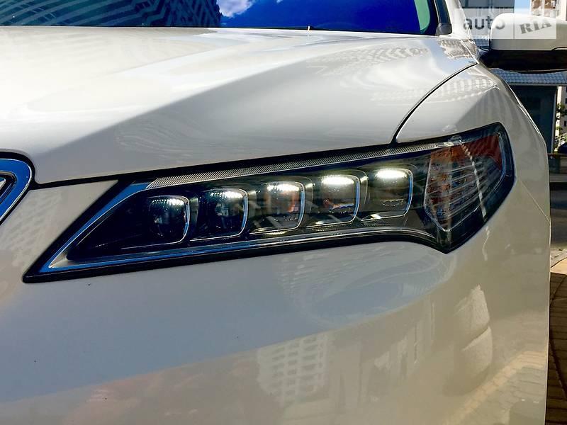 Acura TLX 2015 года