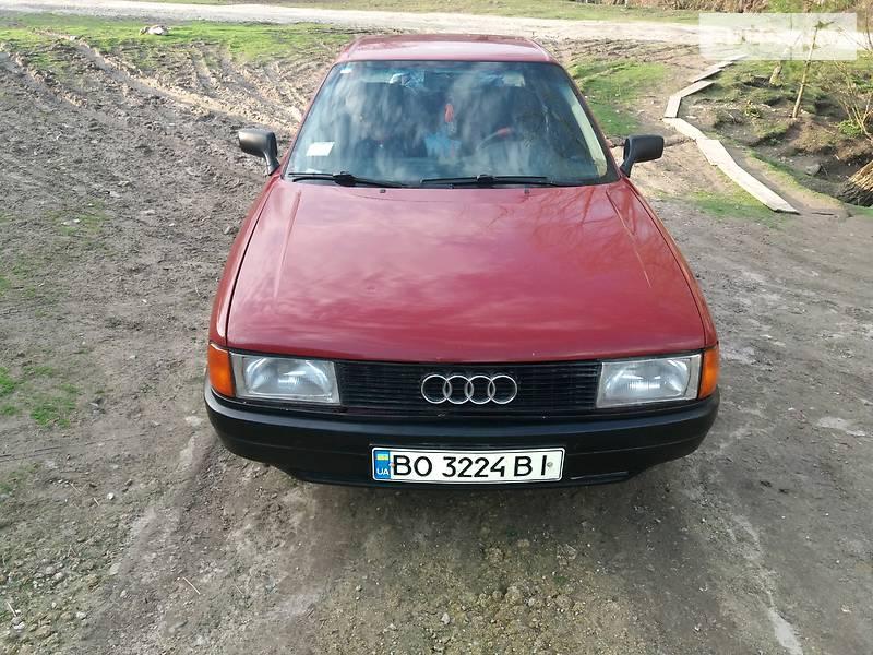 Audi 80 1987 года