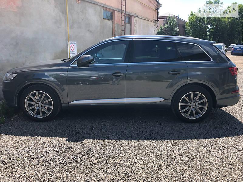 Audi Q7 2015 года в Ужгороде