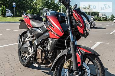 Мотоцикл Без обтекателей (Naked bike) Bajaj Pulsar NS200 2015 в Броварах