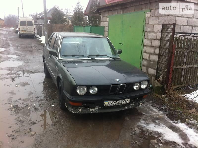 BMW 520 1984 в Днепре