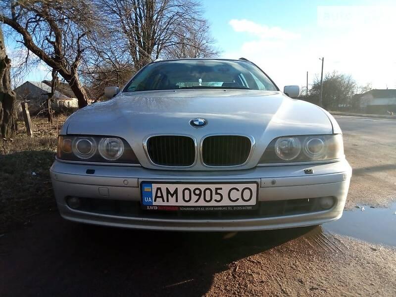 Унiверсал BMW 520 2002 в Бердичеві