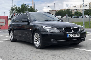 Универсал BMW 520 2008 в Львове