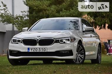 Седан BMW 520 2018 в Львове
