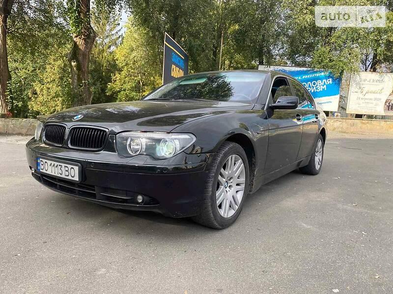 BMW 730 2003 в Тернополе