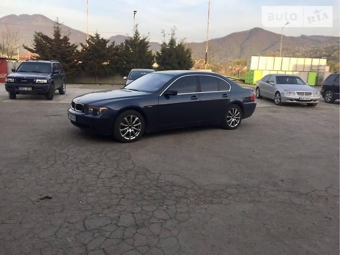 BMW 735 2003 в Рахове