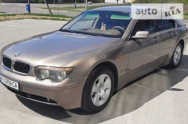 BMW 735 2002 в Ужгороде