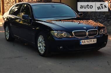 Седан BMW 740 2007 в Києві
