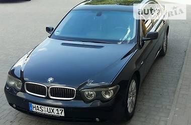 BMW 745 2003