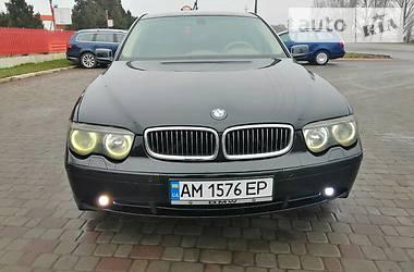 BMW 745 2001 в Любаре