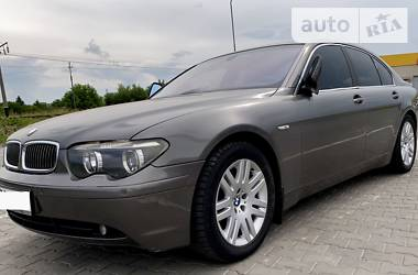Седан BMW 745 2002 в Луцьку