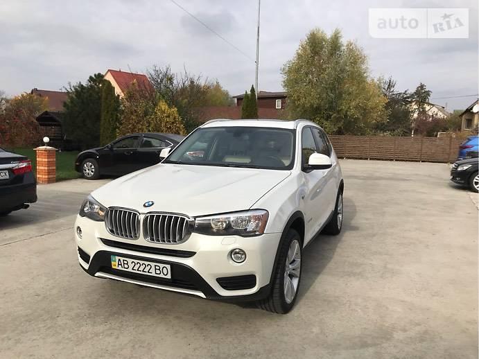 BMW X3 2015 года в Киеве