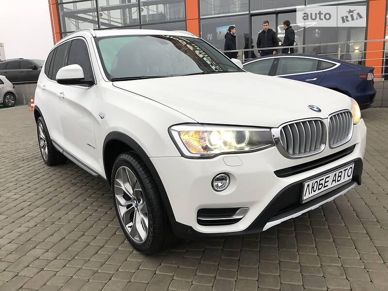 BMW X3 2016 в Львове