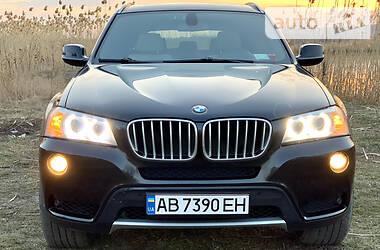 Внедорожник / Кроссовер BMW X3 2012 в Харькове