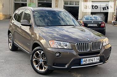 Позашляховик / Кросовер BMW X3 2013 в Вінниці