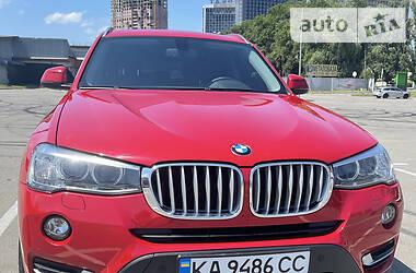 Позашляховик / Кросовер BMW X3 2017 в Києві