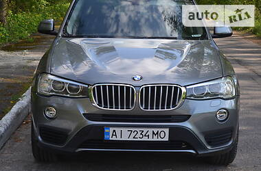 Внедорожник / Кроссовер BMW X3 2016 в Борисполе