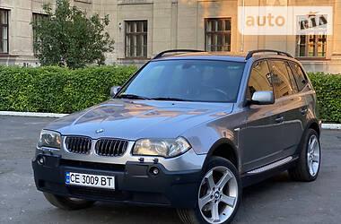 Внедорожник / Кроссовер BMW X3 2005 в Черновцах