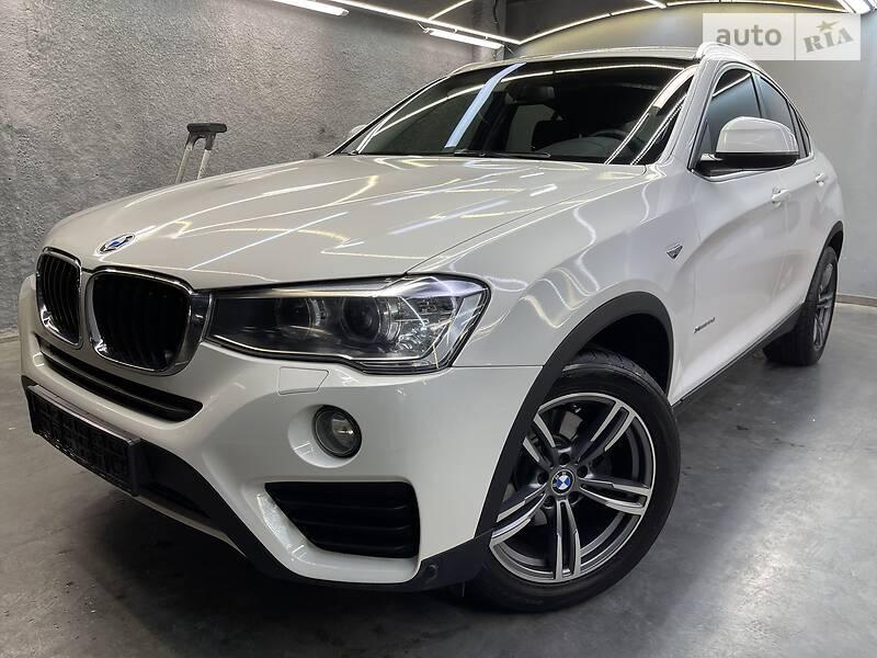 Внедорожник / Кроссовер BMW X4 2016 в Киеве