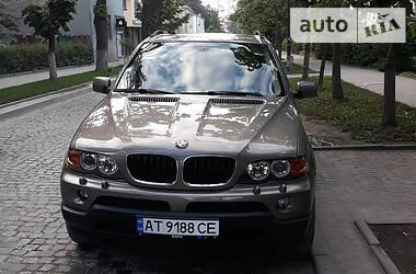 Внедорожник / Кроссовер BMW X5 2004 в Коломые