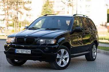 Внедорожник / Кроссовер BMW X5 2003 в Новояворовске