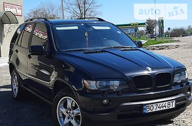 Внедорожник / Кроссовер BMW X5 2003 в Залещиках