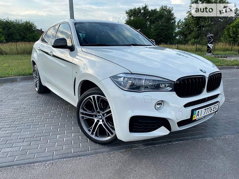 Внедорожник / Кроссовер BMW X6 2016 в Киеве