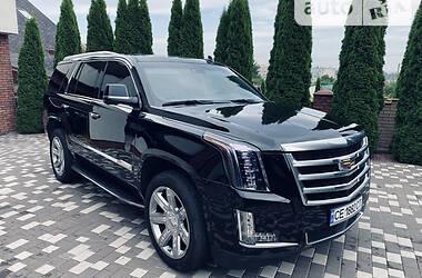 Внедорожник / Кроссовер Cadillac Escalade 2017 в Черновцах
