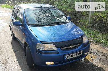 Chevrolet Aveo 2005 в Ужгороде