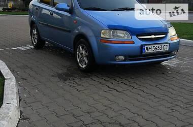 Chevrolet Aveo 2005 в Житомире