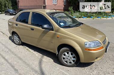 Седан Chevrolet Aveo 2003 в Ужгороде