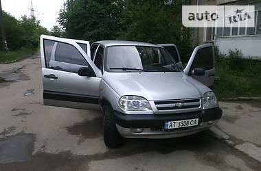 Chevrolet Niva 2008 в Ивано-Франковске