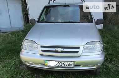 Позашляховик / Кросовер Chevrolet Niva 2006 в Вінниці