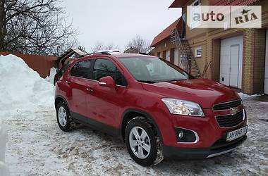 Chevrolet Tracker AWD 2013