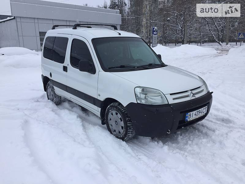 Citroen Berlingo пасс. 2007 года в Полтаве