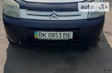 Легковой фургон (до 1,5 т) Citroen Berlingo пасс. 2008 в Ровно
