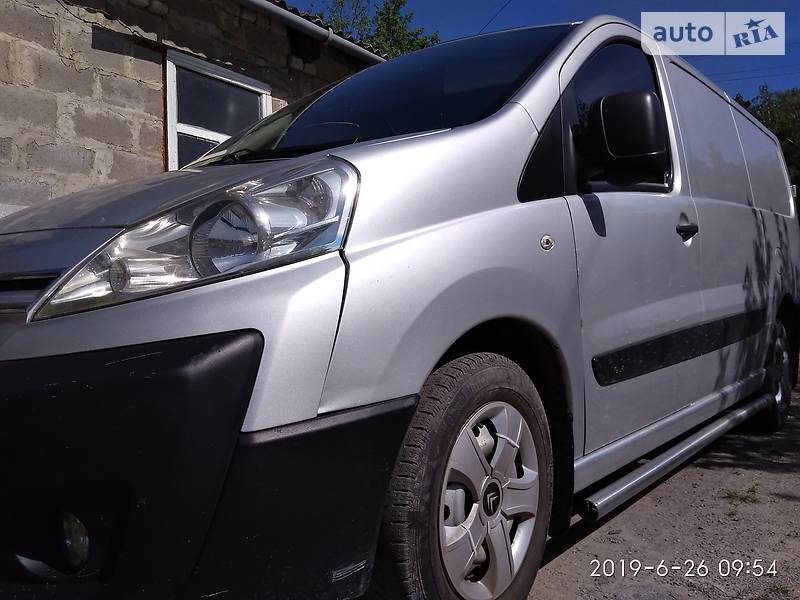 Легковой фургон (до 1,5 т) Citroen Jumpy груз. 2008 в Житомире