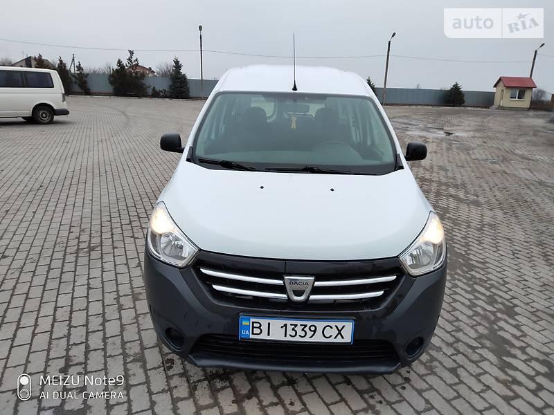 Dacia Dokker 2013 в Полтаве