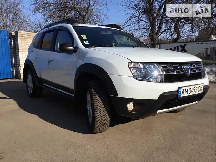 Dacia Duster 2016 года в Житомире