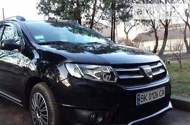 Dacia Logan MCV 2014 в Жидачове