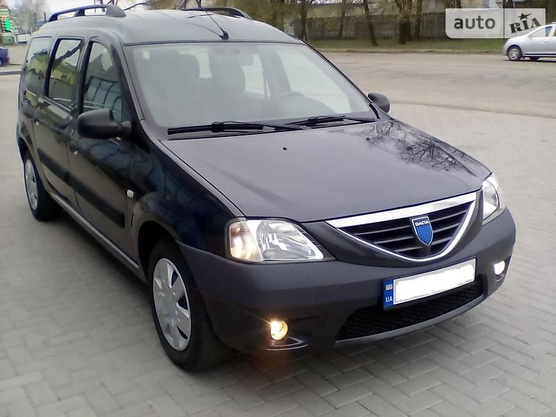 Dacia Logan MCV 2007 года в Киеве