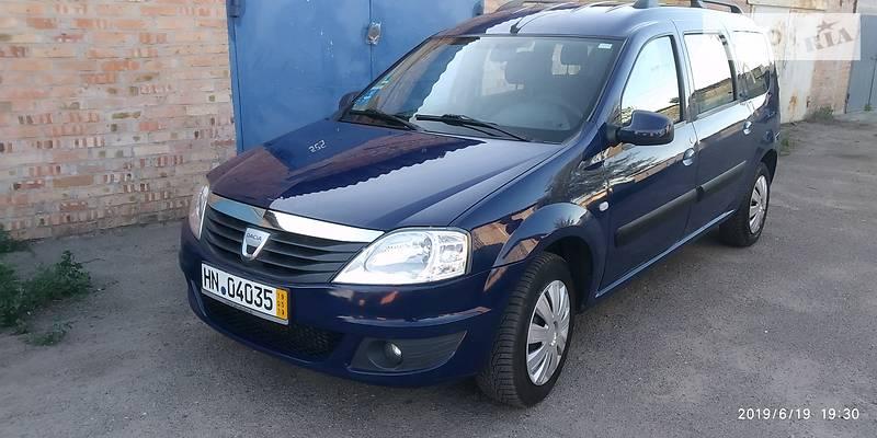 Dacia Logan MCV 2010 года в Сумах