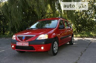 Унiверсал Dacia Logan MCV 2007 в Марганці