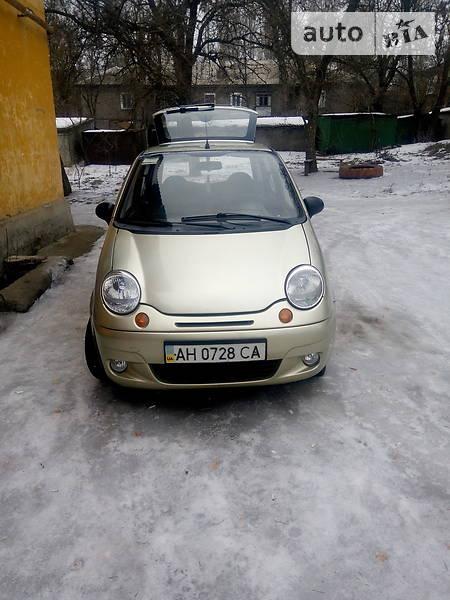 Daewoo Matiz 2007 года в Донецке