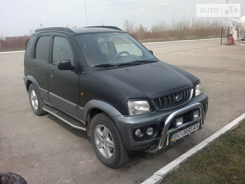 Daihatsu Terios 2000 года