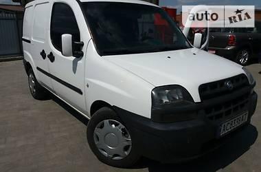 Fiat Doblo груз. 2002 в Луцке