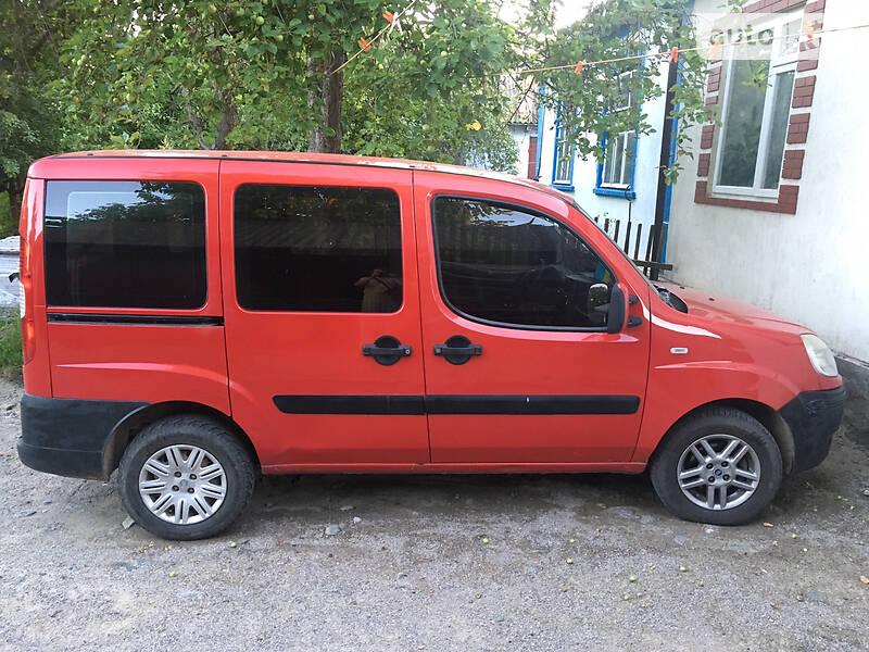 Fiat Doblo пасс. GAZ