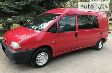 Минивэн Fiat Scudo груз.-пасс. 2001 в Ровно