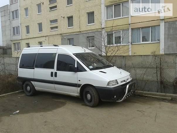 Fiat Scudo пасс. 1999 в Ивано-Франковске