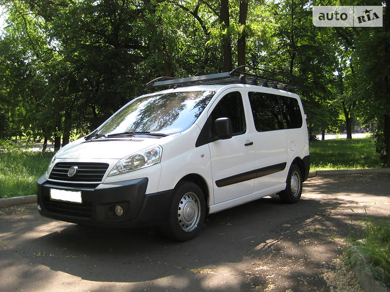 Fiat Scudo пасс. 2007 в Днепре